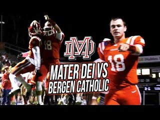 Mater Dei DESTROYS #1 New Jersey Team! Amon-Ra St Brown SEASON DEBUT + MD Defense Scores TWICE!