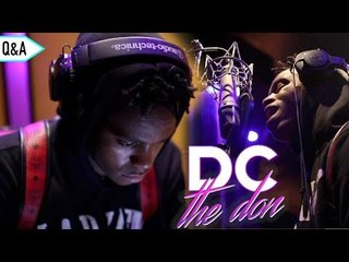 DC The Don Q&A: How He Started Rapping, Playing For Lavar & More [Q&A EPISODE 1]
