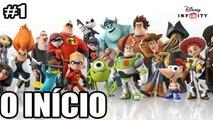 Disney Infinity - PC, Xbox, Playstation, Wii - O INICIO + CARROS 3 - parte 1