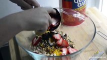 Easy Strawberry Baked Oatmeal Recipe - How to Make Baked Oatmeal