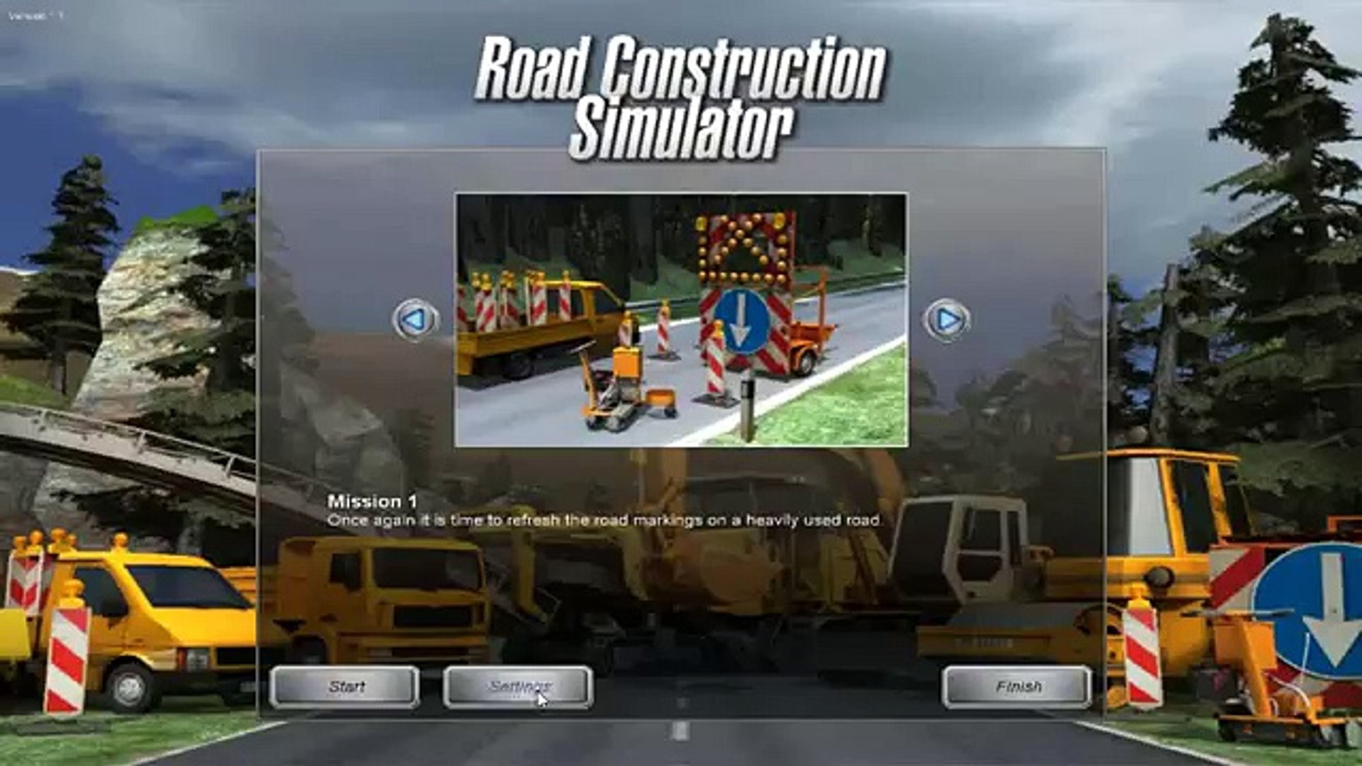 Road Construction Simulator new - Mission 1
