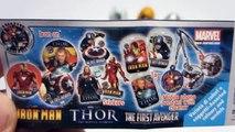 7 Kinder Surprise Dragon Ball Z Power Rangers Samurai Spiderman Star Wars Avengers Eggs Unboxing