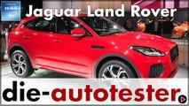 IAA 2017: Jaguar Land Rover feiert Premieren von E-Pace bis Discovery SVX