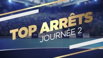 LIDL STARLIGUE 17-18 Top Arrêts J02