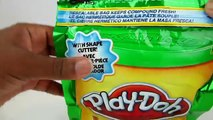 Play Doh . In a Bag! Christmas Toy Unboxing & Review! Awesome for Busy Little Beavers!
