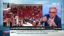 Brunet & Neumann : La loi antiterroriste va-t-elle trop loin ? - 26/09