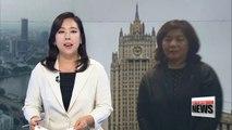 Top North Korean diplomat visiting Russia amid tensions