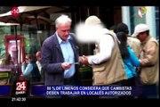 Limeños piden que cambistas trabajen en establecimientos autorizados