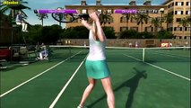 VIRTUA TENNIS 4 - Maria Sharapova vs. Ana Ivanovic (Very Hard Gameplay)