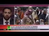 Saudi Arabia executions: 'Not just human rights violation, violation  of pure humanity'