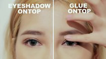 HOODED EYE TO DOUBLE EYELID l Glue vs Tape - video dailymotion