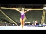 Katelyn Ohashi - 2011 Visa Championships Podium Training - Floor Exercise