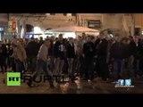 RAW Feyenoord fan Roman rampage - Dutch football hooligans run riot