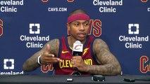 (FULL) Cavaliers' Isaiah Thomas press conference   2017 NBA Media Day   ESPN