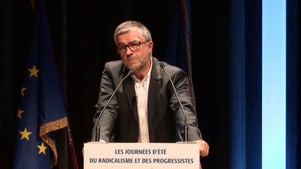 Discours de Bertrand PANCHER, Vice président du Parti Radical - Journées d'été du Radicalisme et des Progressistes