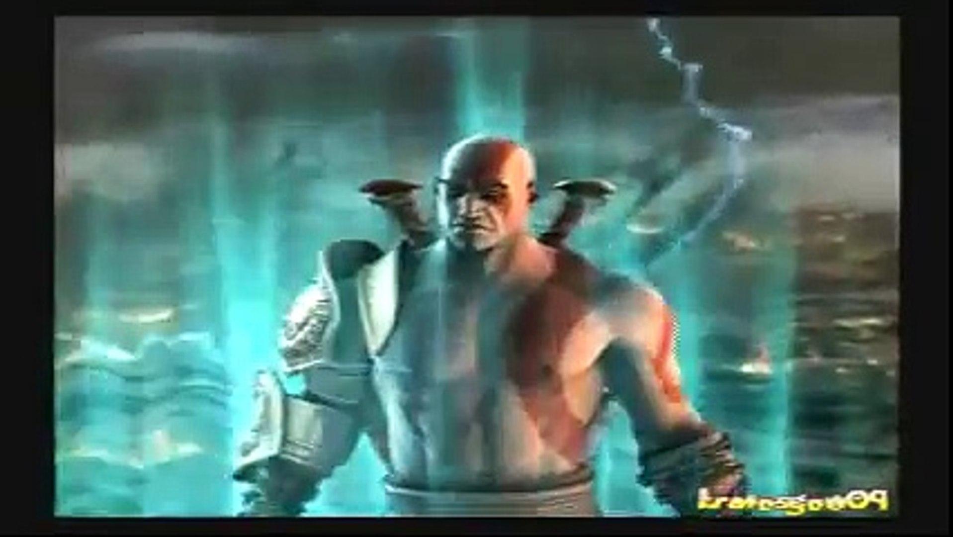 God of War 2 - Ending (scene before God of War 3 starts) - Part 43