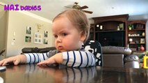 Funny Baby Arguing With Daddy Compilation - Cute babies and daddies moments