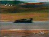 Gran Premio del Sudafrica 1985: Ritiri di N. Piquet, Ghinzani e Alboreto, sorpassi di A. Senna, Prost e Lauda a De Angelis e di K. Rosberg a Mansell e uscita di K. Rosberg