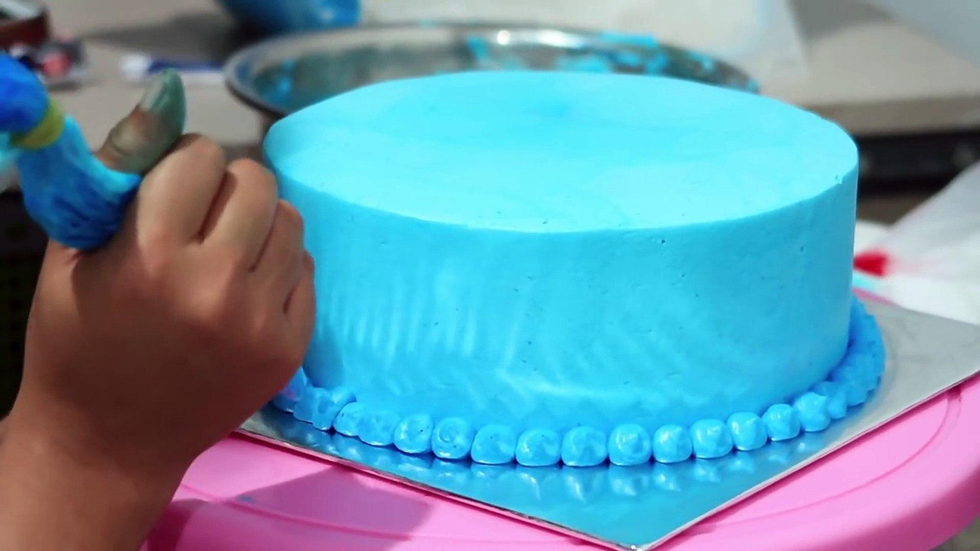 Frozen Elsa Cake Decorating Simple For Daughter Cara