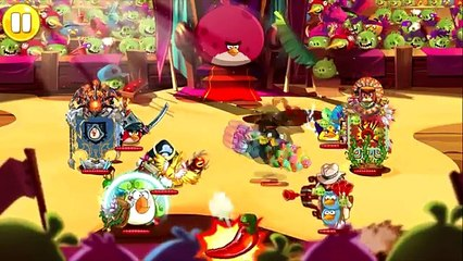 Angry Birds Epic - ARENA BATTLE - Poison Team Attack