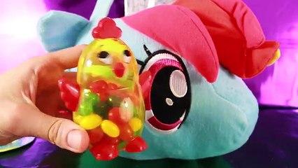 Des œufs flutter géant petit mon jouer poney éclat jouets crépuscule Compilation surprise doh