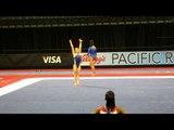 Katelyn Ohashi - Floor Exercise - 2012 Kellogg's Pacific Rim Championships Podium Training