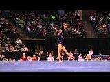 Katelyn Ohashi - Floor Exercise Finals - 2012 Kellogg's Pacific Rim Championships