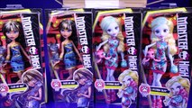 New Monster High Dolls Collection 2016 Ghouls Beast Pet 2 Dolls Unboxing Opening Review Video