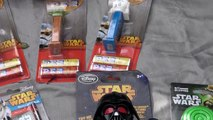 Star Wars Darth Vader Pinata Surprise Kinder Egg PEZ candy Star Wars Toys BB-8 R2 D2