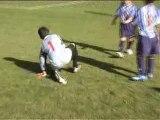 Un peu de Football avec les poussins 2 de l'USC Bourganeuf