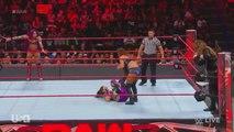 Emma & Nia Jax vs Bayley & Sasha Banks Raw 09.25.2017
