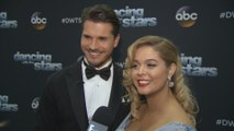 "Sasha Pieterse & Gleb Savchenko on ""DWTS"" Challenges"