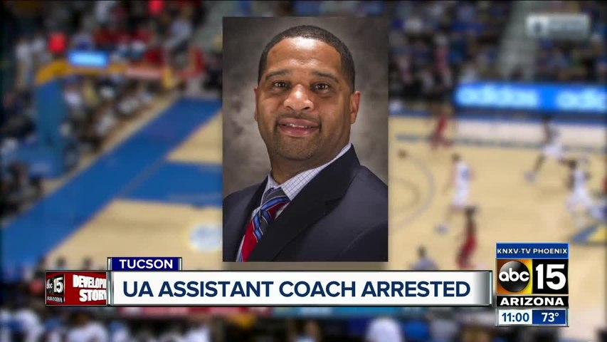 Arizona Wildcats coach Emanuel Richardson arrested on fraud, corruption charges