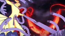 Baruto: Naruto the Next Generation Showdown Five KagesSasuke and Boruto vs Momoshiki and Kinshiki