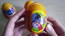 Disney Winnie the Pooh surprise eggs Unboxing. Winnie Pooh by Disney! Part 1