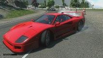 Driveclub - N30 Copa Transatlantica Ferrari F40 Mix Trans Atlantic Cup Ps4 1080p HD