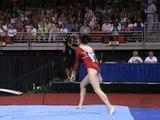 Tabitha Yim - Vault 2 - 2001 U.S. Gymnastics Championships - Women - Day 2