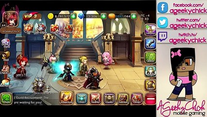Promo Code Giveaway and Outlet Review   League of Angels: Fire Raiders Mobile Game