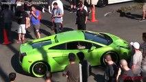 Hypercars invade San Diego! Pagani Huayra 730S, Bugatti Veyron, 918 Spyder & Lamborghini Aventador!