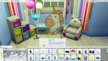 Sims 4 Speed Build | Toddlers Bedroom