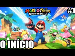 Mario Rabbids Kingdom Battle Nintendo Switch O INICIO parte