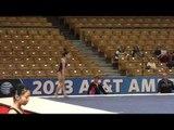 Katelyn Ohashi - Floor - 2013 AT&T American Cup Podium Training