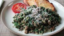 Joes Special - Original Joes Ground Beef & Spinach Scramble