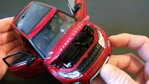 #117 - Welly Land Rover Range Rover Evoque 1/24 Diecast Review