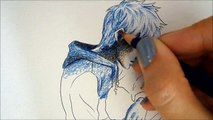 Jack Frost /Inktense Intro pencils - Speed Drawing