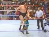 ANDRE THE GIANT VS JAKE THE SNAKE ROBERTS - WWF WWE Wrestling - Sports MMA Mixed Martial Arts Entertainment
