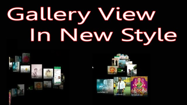 How To Change Gallery View Style In Hindi