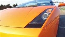 Lamborghini Gallardo Spyder Revs And Interior VS Ferrari F430 Spyder Revs And Interior