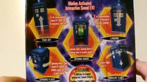 DOCTOR WHO 10th Doctor Flight Control TARDIS Toy Review | Votesaxon07