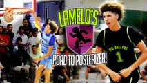 LaMelo Ball Starts DUNKING! Youngest Ball Brother Dunking Story